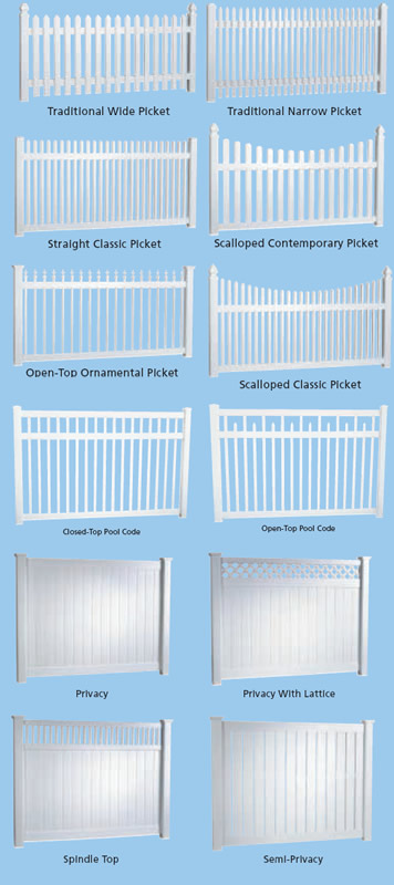 Vinyl Fence Styles Inside Click Here For The Various Vinyl Fence Styles Vinyl Fencing R5 Hawaii